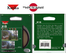 KENKO JAPAN 81B 58MM WARMING WARM GLASS FILTER FOR 58 MM CAMERA CAMCORDER LENS