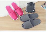 1pair portable transpirable zapatillas desechables Hotel zapatillas SpaRS