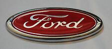 New Red Ford Oval Badge Ford Emblem RETRO 115mmx45mm ESCORT SIERRA CAPRI FIEST