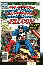 Captain America 214 Vf+ Kirby Marvel comics Cbx18B *