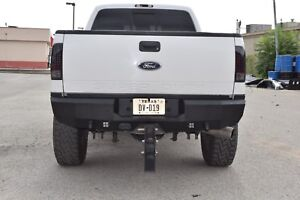 New Smooth Rear Bumper Replacement 99-16 Ford F250 F350 Super Duty