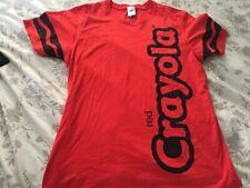 CRAYOLA Crayon Halloween tshirt size large