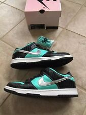 "2005 Nike Dunk Low Pro SB x Diamond Supply Co. ""Tiffany"" - Size 11.5 Supreme"