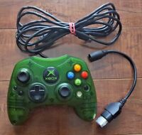 XBOX Limited Edition Controller S Crystal Green 1st Year Anniversary FOR REPAIRS