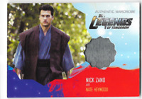 DC Legends of Tomorrow Costume Wardrobe Card Nick Zano Nate Heywood M11 M-11
