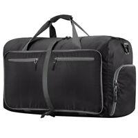 Large Foldable Travel Storage Luggage Carryon Organizer Hand Shoulder Duffle Bag