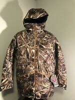 New Sz Medium Under Armour Storm Skysweeper Insulated Parka Realtree 1275190-900