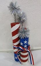 Patriotic 4th of July Fireworks Table Decor Decoration Centerpiece