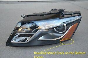 09-2012 Audi Q5 Xenon Drivers Side HID NO ADP Headlight Left OEM Headlamp Light