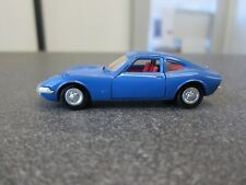 Opel GT 1900 Coupe - Dinky Toys 1421 France 1:43 blau
