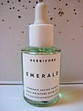 Herbivore Emerald Cannabis Sativa Deep Moisture Glow Oil 0.33 oz Travel ~ New