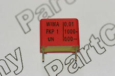 0,01 uf 1000 V Wima fkp-1 Poly Film Capacitor Radial 15mm