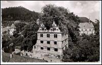 HIRSAU Schwarzwald Baden-Württemberg um 1960  s/w Postkarte Gebäude Ansicht