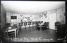 Cave Junction OR~MUIR AUTO COURT~DINER~Dining Room~RPPC