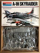 MONOGRAM 5419 - A-1H SKYRAIDER - 1/48 PLASTIC KIT NUOVO