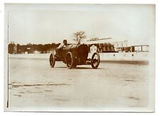 U133 Photographie vintage Originale voiture car course automobile ancien