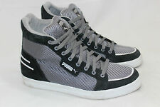Mens PUMA Hooper NM Mid Sneakers Shoes Size US 10 EU 43 Black Grey (O21)