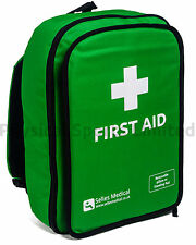 First Aid Rucksack, Green, with Detachable Kneeling Pad