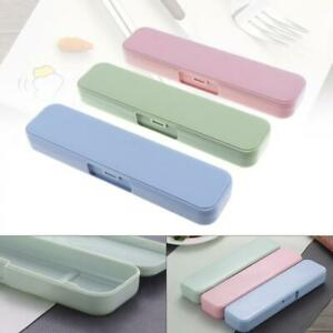 Portable Plastic Tableware Case Spoon Fork Storage Box Cutlery Organizer Travel