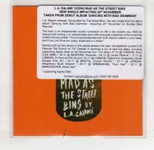 (HR763) LA Salami, Going Mad As The Street Bins - DJ CD