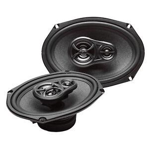 NEW SKAR AUDIO RPX69 270 WATT 6-INCH X 9-INCH 3-WAY COAXIAL CAR SPEAKERS - PAIR