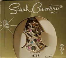 """NIB Vintage Sarah Coventry Sultana 19"""" Necklace, Clip Earring Set 1961 Gold-Tone"""
