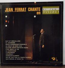 Jean Ferrat Chante en vinyl BB100    031718LLE