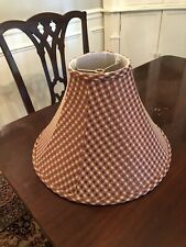 PIERRE DEUX LAMPSHADE...VINTAGE FROM 1980'S....CUSTOM SHADE...GOLD & DEEP  RED