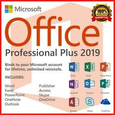 Microsoft®Office 2019 Professional Plus 32/64 Key and download INSTANT DELIVERY