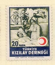 Turkey 1950s Child Welfare Early Issue Fine Mint Hinged 20p. 063115