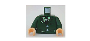 LEGO Torso Harry Potter Torn Suit with Buttons, Shirt and Tie Pattern LUPIN