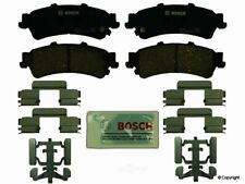 Bosch QuietCast Premium Ceramic Disc Brake Pad Set BC792 fits 2006-11 DTS - REAR