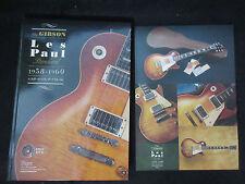 Gibson Les Paul Standard 1958 -1960 Japan Limited Guitar Photo Book w DVD Burst