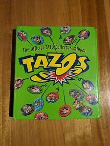 TAZOS Original collectors album official 90s looney tunes 170 duplicates