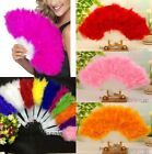 DAINTY FEATHER FANS-Burlesque Flapper Dance Wedding Costume Fancy Dress Showgirl