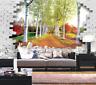 3D Birkenwald 864 Tapete Wandgemälde Tapete Tapeten Bild Familie DE Summer