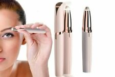 Women's Painless Electric Eyebrow Hair Trimmer Epilator Remover Brow Shaver