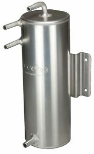 OBP 2 L Aluminium Kraftstoff Wirbel Topf 280mm (H) X 100mm (D) Schott Halterung