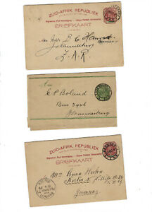 SOUTH AFRICA-STATES-STATIONARY-CARDS-USED-FINE-VF-#SA200