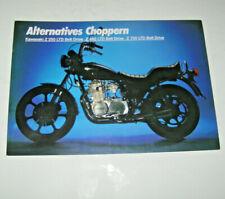 Kawasaki Z 440 Prospekt 197? Prospekte 193576 Automobilia