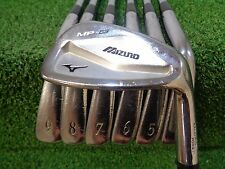 USED MIZUNO MP 63 FORGED IRON SET 4-PW FST KBS TOUR STIFF USED
