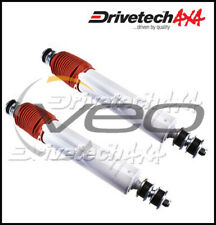 DRIVETECH 4X4 FRONT BIG BORE GAS SHOCKS FITS TOYOTA LANDCRUISER HZJ78R 8/99-7/06