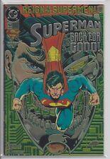 Superman 82 - DC Comics Reign of the Superman Chromium Variant VF/NM 1993