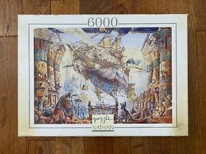 Extremely RARE puzzle 6000 Nathan NAUTILUS by Gabor Szittya 1995y