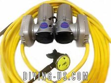 12v Electric Hookah GEMINI DIVING KIT gold dredge pool scuba