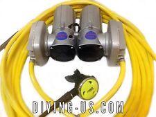 12v Electric Hookah GEMINI DIVING KIT gold dredge pool scuba