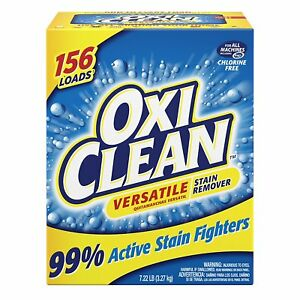 OxiClean Versatile Stain Remover 99% Active Stain Fighters, 7.22 Lbs / 156 Loads