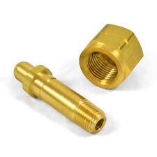 Cga 350 Nut Amp 2 12 Nipple Regulator Inlet Bottle Fittings Hydrogen Nat Gas