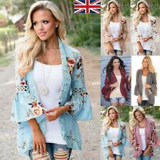 NEW Size 16-24 White Lace Batwing Striped Black Contrast Kimono Top Blouse Tunic