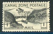 Canal Zone Scott #CO7 $1 Black (1941) - Used